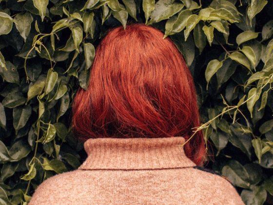 back of head hair woman